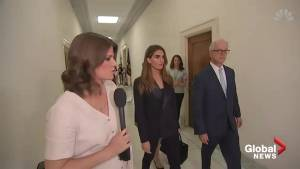 Ex-Trump aide Hope Hicks deflects questions on Capitol Hill