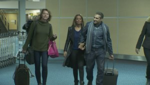 Mohamed Fahmy arrives in Vancouver