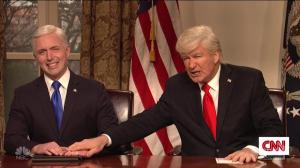 Alec Baldwin's Trump returns to discuss gun violence in SNL cold open