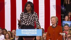 Michelle Obama makes interesting point about how close elections are