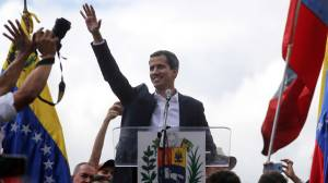 Trump backs Maduro rival amid protests in Venezuela