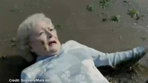 Super Bowl classic commercial: Snickers and Betty White