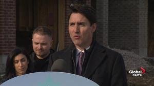 Justin Trudeau reiterates claim SNC-Lavalin jobs were 'at risk'