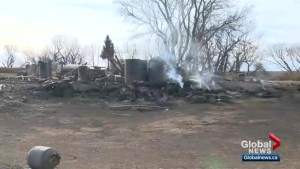 Cleanup from wildfires, wind storm continues in Saskatchewan