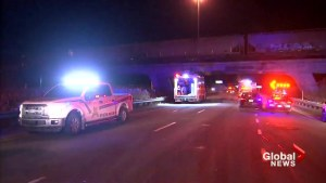 Highway 30 reopens after hit and run