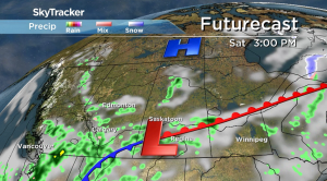 Saskatchewan weather outlook: May showers slide through