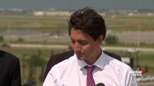 Trudeau says federal government has responsibility over asylum seekers