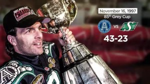 A look back at the history of Edmonton hosting the Grey Cup