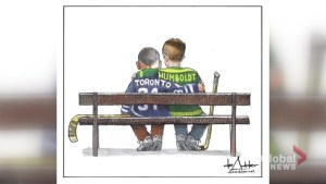 Cartoon honouring city of Toronto, Humboldt Broncos resonating on social media