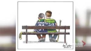 Cartoon honouring city of Toronto, Humboldt Broncos resonating on social media