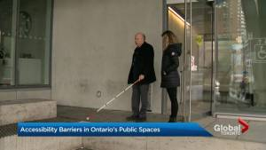 'One design flaw after another': Accessibility advocate calls out new Ryerson building (02:15)