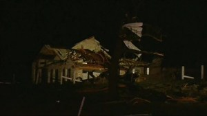 Severe storm damages homes in North Texas