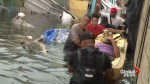 People carried, taken on boats as Puerto Rico homes evacuated following Hurricane Maria