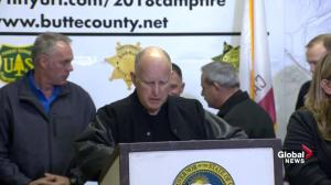 California wildfires: Governor Jerry Brown says wildfire-impacted areas look like a 'war zone'