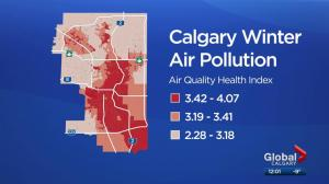 Where is the worst air in Calgary? U of C researchers find out