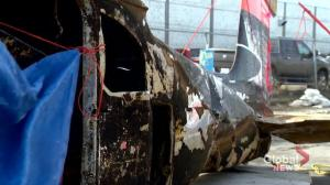 Plane recovered nearly 60 years after crash in northern Saskatchewan lake