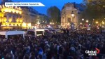 Notre Dame fire: Crowds gather, sing 'Ave Maria' after cathedral burns