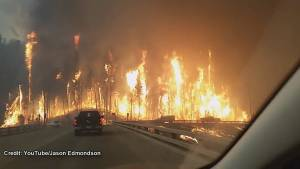 Powerful video captures resident's escape from Fort McMurray wildfire