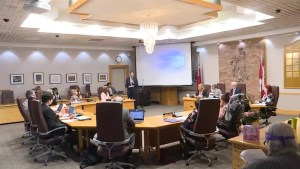 The Limestone District School Board met for the first time since a strongly worded statement from the Chair was released