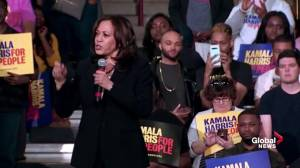 'We are better than this': Kamala Harris says we must restore truth and justice