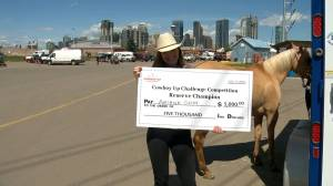 Calgary teen rides to unforgettable 2nd-place finish at Calgary Stampede