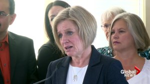 Notley responds to Jason Kenney's announcement on GSAs in Alberta schools