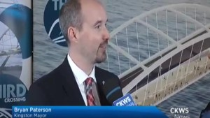 Kingston Mayor reacts to funding announcement for third bridge