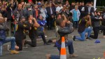 New Zealand shooting: Bikers perform Haka at memorial for victims