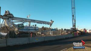 Valley LRT Line construction will cause traffic headaches in Edmonton in 2018