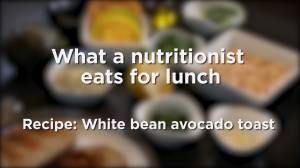 How to make white bean avocado toast