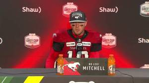 Calgary Stampeders quarterback calls Grey Cup win 'surreal' (00:47)