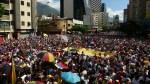 Students rally in Venezuela in support of Juan Guaido