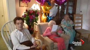 100-year-old says exercise, beer and chips are the secret to long life