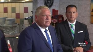Ontario government 'consulting with people' on Bala Falls hydro project: Ford