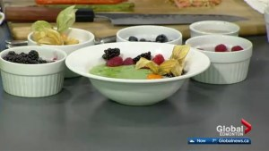 In the Global Edmonton kitchen with The Westin