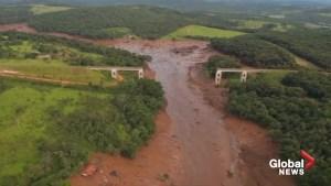 300 missing, mass devastation after Brazil dam burst