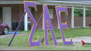 Growing number of scandals involving universities, fraternities