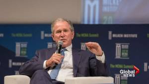 George W. Bush says Russia meddled in U.S. election
