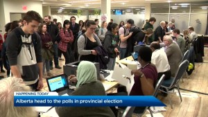 Alberta heads to the polls