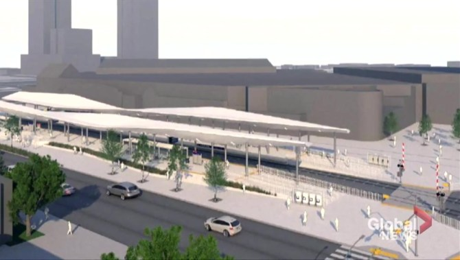 Revamped CTrain station proposed near Calgary's Stampede grounds
