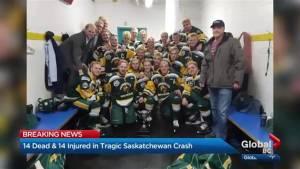 Humboldt Broncos head coach dead in bus crash in Saskatchewan