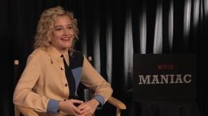 Julia Garner discusses new Netflix series 'Maniac'