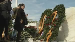 Relatives mark first anniversary of Germanwings crash