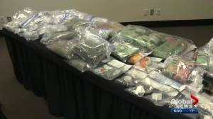 Charges laid after biggest cash bust in Strathcona County RCMP drug unit history