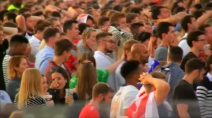 England fans' hopes dashed at bringing World Cup home after team eliminated by Croatia in semifinals