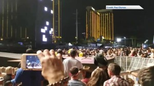 BC resident ducks for cover as Las Vegas shooter opens fire