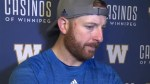 RAW: Blue Bombers Matt Nichols Post Game Interview
