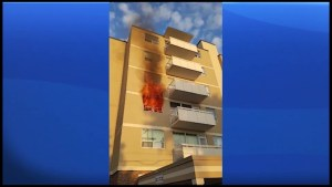 Tenants rescued from apartment fire in Lindsay