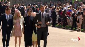 Royal Wedding: David and Victoria Beckham arrive for Royal Wedding