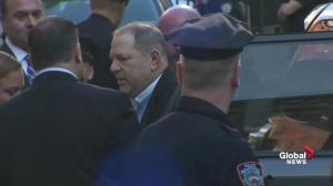 Weinstein arrives to surrender in assault probe
